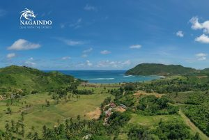 Nagaindo land for sale investment property Kuta Lombok Are Guling surf break