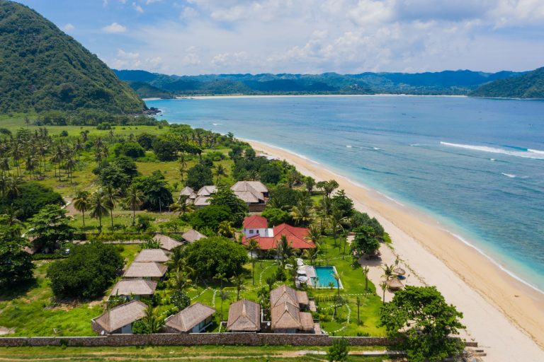 Nagaindo land for sale investment property Kuta Lombok Serangan beach development surf