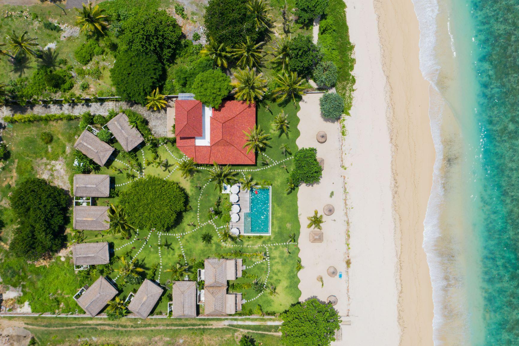 Nagaindo land for sale investment property Kuta Lombok surf yoga villa Twin Peaks Selong Belanak Serangan