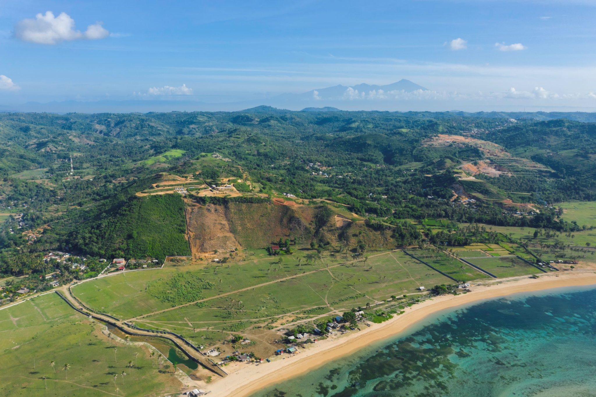 Nagaindo land for sale investment property Kuta Lombok surf yoga villa Gili Nusa Estate