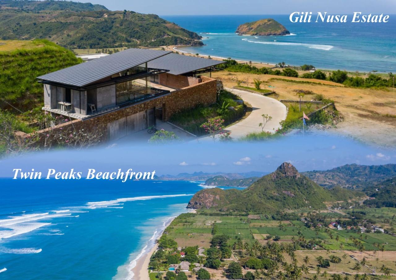 luxury villa on south lombok coast and ocean views, next to Mandalika MotoGP 2022