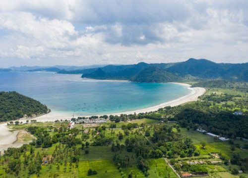 Nagaindo land for sale investment property Kuta Lombok Selong Riverside