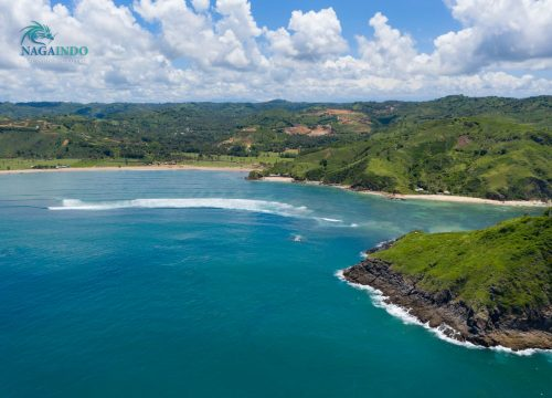 Nagaindo land for sale investment property Kuta Lombok Rolling Waters Are Guling