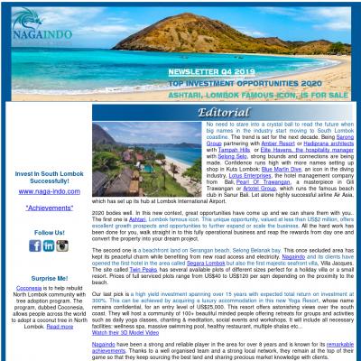 export newsletter pic